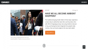 Canvas 8 - Have we all become ambient shoppers - Aug 2016