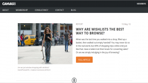 Canvas 8 - Why are wishlists the best way to browse - May 2016
