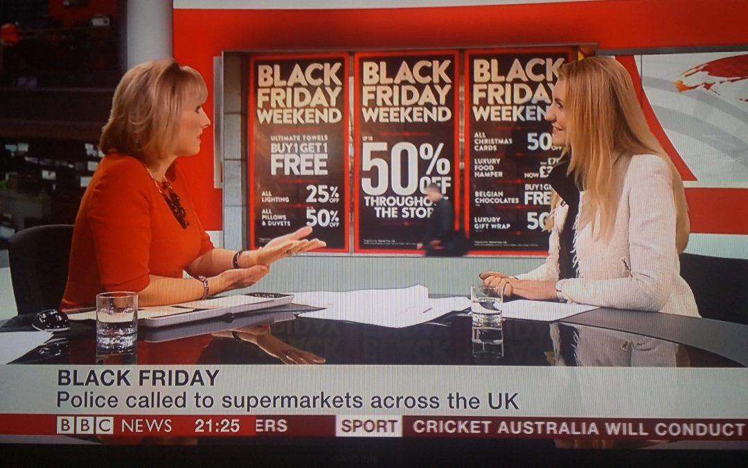 BBC News Channel – Black Friday