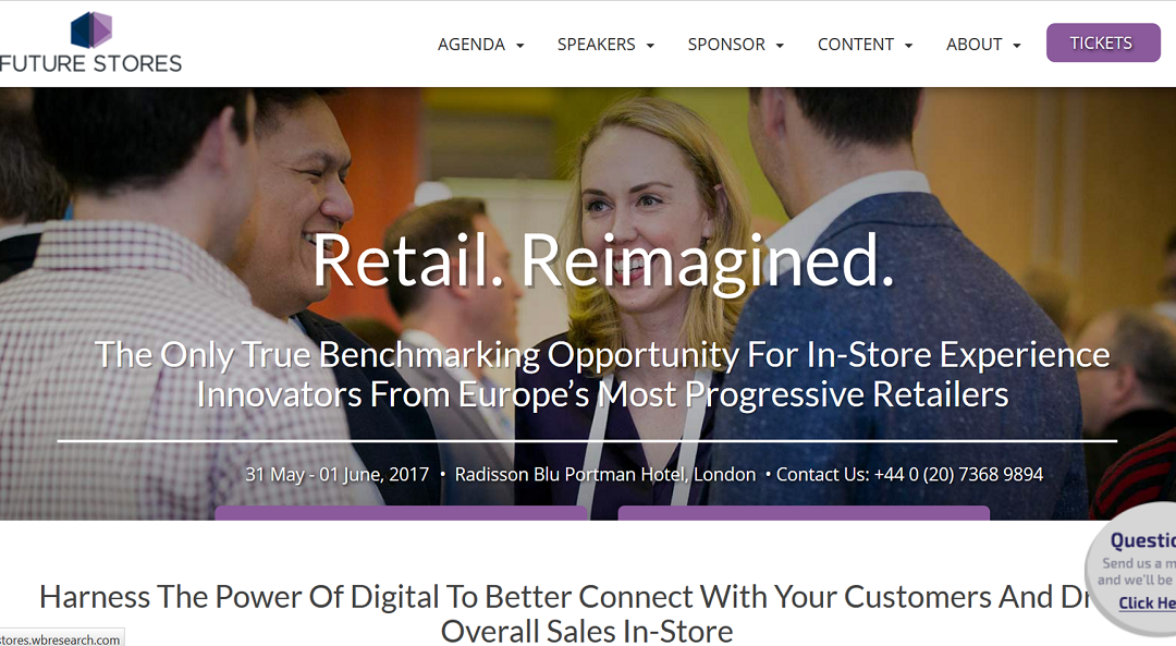 Kate is speaking at Future Stores Conference on 31st May
