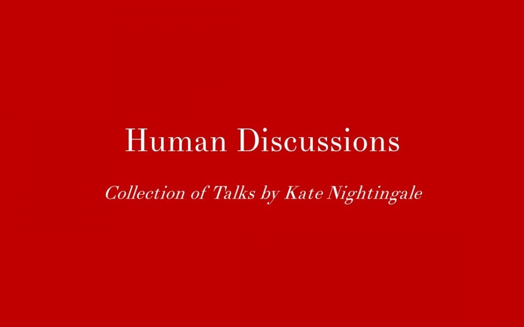 Human Discussions Collection of Talks
