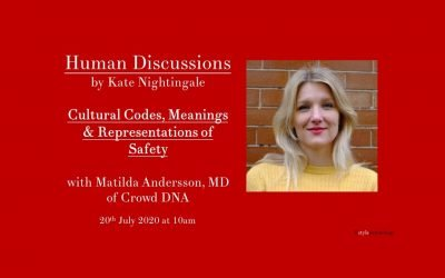 Human Discussions with Matilda Andersson, MD of Crowd DNA
