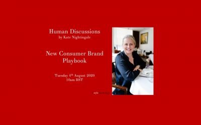 Human Discussions – New Consumer Brand Playbook with Tracey Woodward